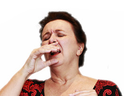 Sinus congestion and sneezing